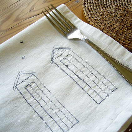 contemporary table linens by Charlotte Macey