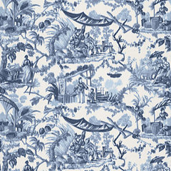 asian fabric by F. Schumacher & Co.