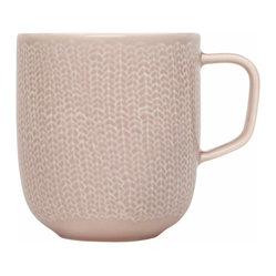 Iittala - Sarjaton Mug, Letti, Old Rose - Adding a new mug to your morning ritual will help you greet the day in a great mood. The pretty rustic pattern will make the simple pleasure of coffee or tea even more enjoyable.