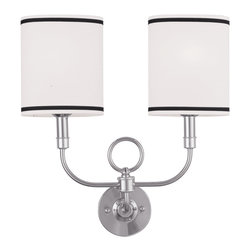 Livex Lighting - Livex Lighting 9122-91 Wall Light/Wall Sconces - Livex Lighting 9122-91 Wall Light/Wall Sconces