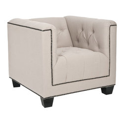 Safavieh - Safavieh Bentley Club Chair X-A4754RCM - Finish: Dark Java.