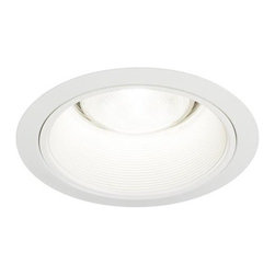 "6"" White Baffle Recessed Trim - 6 Pack - 6'' Inch White Baffle comes with both 7'' and 7 5/8 '' outer trim rings giving you the option of outer diameter ring to select for install. For BR30 / PAR30 and equivalent size compact fluorescent and LED bulbs, 75 Watt Max. Efficient Lighting Supply knows recessed lighting and has worked aggressively to brings its products to the marketplace at a price customers deserve. Works with 6"" recessed cans brands such as Halo, Capri, Thomas, and Juno Lighting Fixtures."