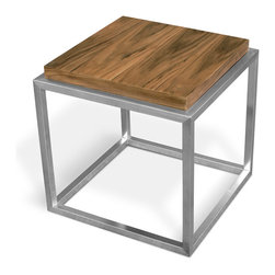 Gus - Drake End Table - Drake End Table by Gus Modern