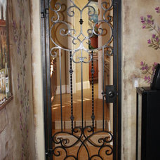 mediterranean interior doors by Lidia M. Luna At Forge Iron Designs