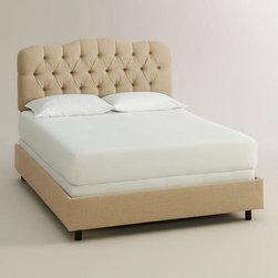 Linen Rae Bed -