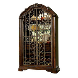 Wine Cabinet - In classic Valencia style, this breathtaking wine ...