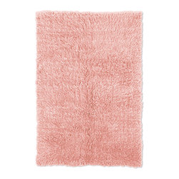 Linon - Linon Flokati Heavy Pastel Pink Rug (4' x 6') - The Linon Extreme Heavy Flokati is a luxurious thick Flokati rug hand made in Greece. This Flokati is 4000 grams/m² and is a deep plush pile rug.