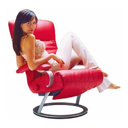 Kiri Recliner By Lafer Recliners - The Kiri Recliner from Lafer is the most popular model and incorporates all the signature features of a Lafer recliner.