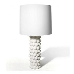Georgia Lamp - If you feel like it's getting too masculine in the bedroom, you can always add this cheeky lamp from Jonathan Adler. What do you think: Is it more masculine or feminine?