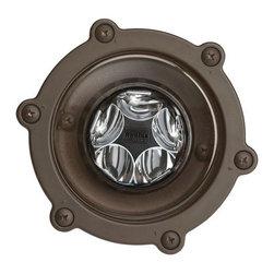 Kichler - Kichler 16033-30 LED 12 Volt 6.5 Watt 10 Degree 3000K Outdoor Well Light - Product Features: