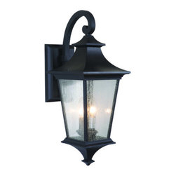 Craftmade - Craftmade Z1364-LED Argent 1 Light LED Medium Closed Bottom Outdoor Wall Sconce - Features: