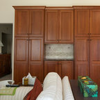 2Y model Coffee Glazed Maple kitchen display - Traditional - Kitchen Cabinetry - san francisco ...