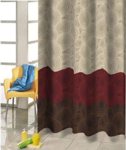 Contemporary Shower Curtains by sinofaucet