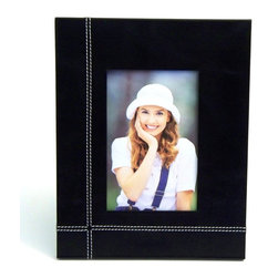 Bey-Berk - Bey-Berk Black Leather 4 x 6 in. Picture Frame - D1319 - Shop for Photo Albums Frames and Storage from Hayneedle.com! About Bey-Berk InternationalThis quality item is created by Bey-Berk. For more than 20 years Bey-Berk International has crafted and hand-selected unique gifts and accessories from around the world to meet the demands of discerning customers. With its line of elegant and distinctive products Bey-Berk has established itself as a leader in luxury accessories.