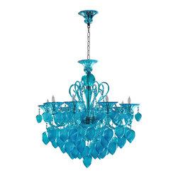 Cyan Design - Aqua Chianti Chandelier - 04618