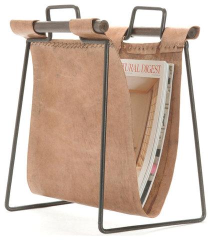 Rustic Magazine Racks by Kathy Kuo Home