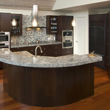 Eclectic Kitchen by Old World Kitchens & Custom Cabinets