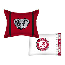 Store51 LLC - NCAA Alabama Crimson Tide MVP Pillow Sham Pillowcase Set - Features: