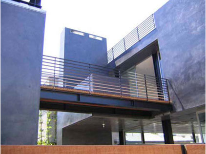 Modern Exterior by David Hertz & Studio of Environmental Architecture
