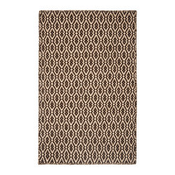 Hook & Loom Rug Company - Corsican Natural Wool Woven Rug - 100% Natural Wool Rug, expertly and tightly hand-woven to make it thicker and more comfortable than other woven wool rugs. Edges are hand bound instead of hemmed, so this rug is 100% reversible for twice the wear. Colors are natural sheep colors. We use no latex, chemicals, or dyes, so it is earth-friendly and family friendly.
