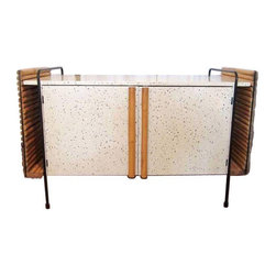 "Ritts Co. ""Wroughtan"" Credenza C. 1954 - Dimensions 47.5ʺW × 19.0ʺD × 30.5ʺH"