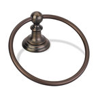 Hardware Resources - Elements Conventional Towel Ring. Finish: Brushed Oil Rubbed - Elements Conventional Towel Ring.  Finish: Brushed Oil Rubbed Bronze.  Packed in new Retail Box.