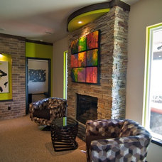 Contemporary  by Jeff Click Homes