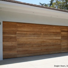Modern Garage Doors And Openers by Ziegler Doors Inc.