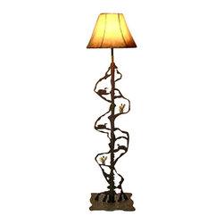 Wildlife Decor Llc Scenery Style Floor Lamp Wrinkle