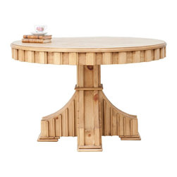 Sweet Elle Furniture - Ralph Table - Our Ralph Table is simply delicious. It has striking architectural lines that make it a real style asset to any room. Crafted using traditional mortise and tenon joinery.