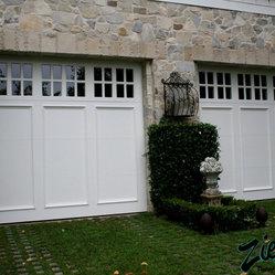 Traditional Wood Garage Doors Traditional Style Garage