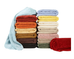 Towels by G.U.S. - Natural Plush Micro-Cotton Towel, White, Hand Towel - Feel the difference of Micro-cotton technology with the decadence of our Natural Plush Micro-Cotton Towels. Specially cultivated long fibers are woven into extraordinarily long loops that give these towels a spa-like indulgence. The Natural Plush Micro-Cotton Towels not only look and feel fantastic, they receive top marks when it comes to absorption. If you are looking for a long-term solid investment, Natural Plush Micro-Cotton Towels are the ultimate intelligent choice.