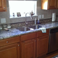 Eclectic Kitchen Countertops by Craftsmen Home Improvements