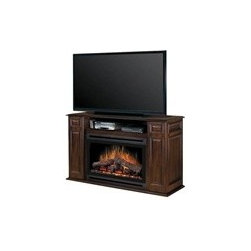 Levin Furniture - The Atwood Media Console features a traditional design with recessed paneling and plenty of room for your home theater components. This fireplace console combines the timeless pleasure of a warm hearth with all the dedicated storage you need for your entertainment space. With quality wood construction and a burnished walnut finish, this media center will coordinate effortlessly with your fine furniture.