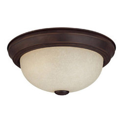 Capital Lighting - Capital Lighting 2745 3 Light Flushmount Ceiling Fixture - Capital Lighting 2745 3 Light Flushmount Ceiling FixtureSleekly and contemporarily designed, this three light flush-mounted ceiling fixture looks good and provides plenty of down light for a room.Features: