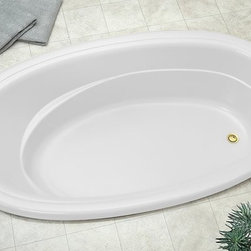 Jacuzzi - Jacuzzi-RIV7242 BUX XXX W Riva Acrylic 72-Inch x 42-Inch x 20-1/2-Inch Comfort S - Jacuzzi-RIV7242 BUX XXX W Riva® Acrylic 72-Inch x 42-Inch x 20-1/2-Inch Comfort Soaking Bath with Universal Drain in WhiteEvoking the breathtaking beauty of the northern Italian town for which it is named. The Riva® whirlpool bath is truly true to form - an elegant classic. And truly versatile - at home in both traditional and more contemporary interior design. Only the multiple options can match the beauty of the Riva® comfort tub. Available in five, five and one-half, and six foot models, and also as a Pure Air® bath or soaking tub.A traditional bathing experience is the foundation of hydrotherapy and is as simple as being enveloped in warm water. Jacuzzi's classic Italian designs provide the perfect vessel for this treatment. Jacuzzi's soaking tubs will enhance your bathroom and more importantly improve your quality of life. The traditional Soaking bath is a non jetted, non Pure Air® tub.Jacuzzi-RIV7242 BUX XXX W Riva® Acrylic 72-Inch x 42-Inch x 20-1/2-Inch Comfort Soaking Bath with Universal Drain in White, Features:• 72-Inch x 42-Inch x 20-1/2-Inch