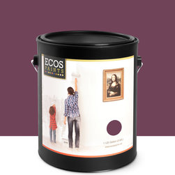 Imperial Paints - Eggshell Wall Paint, Gallon Can, Purple Splendor - Overview: