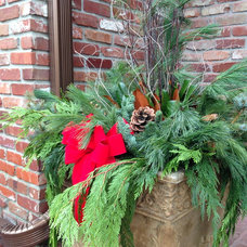 Traditional Outdoor Holiday Decorations by What the Farm, Inc.