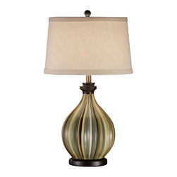 Crestview Collection - Crestview Collection CVAP1356 Sawyer Table Lamp - Crestview Collection CVAP1356 Sawyer Table Lamp