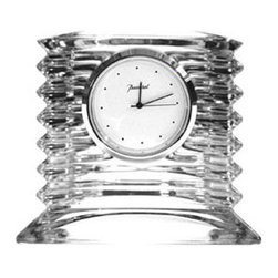 Baccarat - Baccarat Lalande Clock  Small - Baccarat Lalande Clock  SmallBaccarat Crystal can trace its history back to 18th century France, where in the village of Baccarat a glassworks facility was established. Since 1794 they have been producing some of the world,s finest crystal, using age old methods. Baccarat crystal glasses have been produced for kings and queens alike. Their delicate detailing and unparalleled quality are sought after by collectors around the world, and now they can be part of your home at affordable prices
