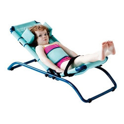 "Wenzelite - Dolphin Pediatric Bath Chair - Features: -Dolphin Pediatric Bath Chair. -Seat and back angle adjust independently. -Fits all standard tubs. -Includes two adjustable positioning belts and headrest for safety, comfort and support. -Back support has 10 angle positions including trendelberg. -Seat has 5 tilt positions. -Aluminum frame covered in a quick-drying sea green mesh fabric. -Folds for easy storage. -Seat is adjustable in depth. -Weight Capacity: 100 lbs. -Two year limited warranty. Optional Adjustable Base Features: -Easily attaches to the Dolphin bath chair and is height adjustable in 1"" increments. -Allows for easy transfer and can be used in either the bathtub or shower. -Limited lifetime warranty."