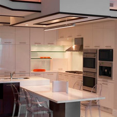 Contemporary Kitchen by Britto Charette Interiors - Miami Florida