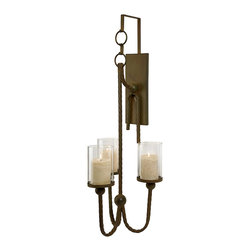 Wrought Iron Wall Sconces For Candles : Houzz.com: Online Shopping for Furniture, Decor and Home Improvement