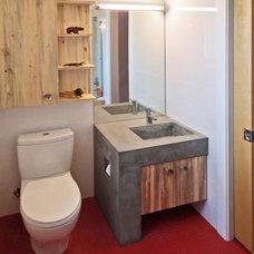 Modern Bathroom by BARRETT STUDIO architects