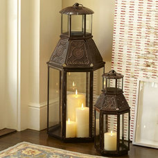 Mediterranean Candleholders by Pottery Barn
