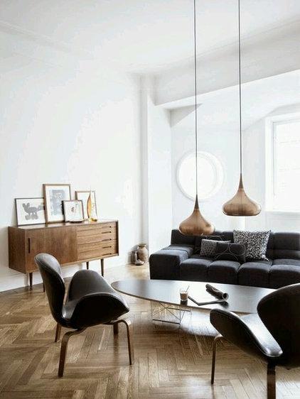 interior decoration in contrast balck and white color - new wall decor ...