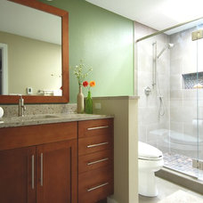 Contemporary Bathroom by Elements K+B / Shannon Boyle
