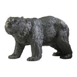 Cyan Design - Cyan Design 00723 Sculptural Cast Iron Bear - Cyan Design 00723 Sculptural Cast Iron Bear
