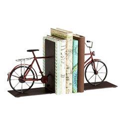 Cyan Design - Cyan Design 06649 Multi Colored Pedal Bookends - Cyan Design 06649 Multi Colored Pedal Bookends