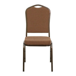 Flash Furniture - Flash Furniture Banquet Stack Chairs Banquet Stack Chairs X-GG-VG-EEFFOC-10C-GN - This is one tough chair that will withstand the rigors of time. With a frame that will hold in excess of 500 lbs., the HERCULES Series Banquet Chair is one of the strongest banquet chairs on the market. You can make use of banquet chairs for many kinds of occasions. This banquet chair can be used in Church, Banquet Halls, Wedding Ceremonies, Training Rooms, Conference Meetings, Hotels, Conventions, Schools and any other gathering for practical seating arrangements. The banquet chair is also great for home usage from small to large gatherings. For any environment that you use a banquet chair it will put your guests at a greater comfort level with the padded seat and back. Another advantage is the stacking capability that allows you to move the chairs out of the way when not in use. With offerings of comfort and durability, you can be assured that you can enjoy this elegant stacking banquet chair for years to come. [NG-C01-COFFEE-GV-GG]